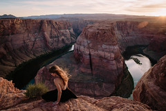 Horseshoe Bend (paigenelsonphoto) Tags: arizona horseshoebend navajonation page portrait sandiegophotographer adventure destinationphotographer landscape paigenelsonphotography portraitphotographer roadtrip travel travelphotographer