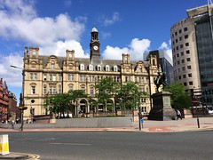 Leeds (My photos live here) Tags: leeds city square old post office no number 1 one black prince statue town urban built up yorkshire england