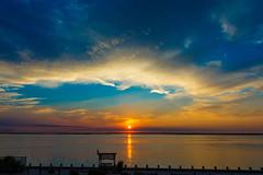 Long Beach Island Sunset (masemase) Tags: sunset lbi wof vi beach holgate jersey shore july long island new summer clouds weather cloud haven rainbow ocean wofvi jerseyshore longbeachisland newjersey