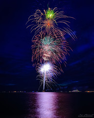 North Cape May Fireworks (Joe Barrett Photography) Tags: longexposure beach night catchycolors newjersey fireworks nj capemay 4thofjuly jerseyshore southjersey afterdark independanceday delawarebay ndfilter catchycolorsgreen catchycolorsred catchycolorsblue catchycolorspurple capemaycounty wetreflections nd64 sigma1770mmf284 hoyapro1digitalfilterndx64