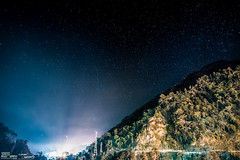 A Starry Night in Sikkim (IAMSOURAVCHAKRABORTY) Tags: winter sky india mountain night speed stars photography nikon long exposure angle district wide january east tokina 11mm starry sikkim 30sec throwback smit sourav chakraborty d7100 majitar