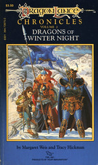 Novel-Weis&Hickman-Dragons-of-Winter-Night (Count_Strad) Tags: dragons adventure elf fantasy novel dungeons tsr dragonlance