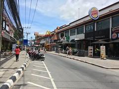 Koh Samui Chaweng Beach road - quiet day time (soma-samui.com) Tags: thailand kohsamui beachroad chawen
