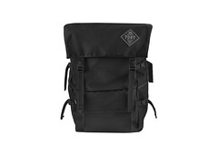 Mammoth Black Front (YNOT made) Tags: ynot ynotmade madeincanada madeintoronto toronto canada backpack largebackpack lifetimewarranty backpacking travel travelling weatherproof waterproof