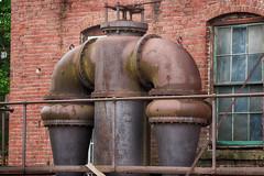 Old Mill Machinery (Seth J Dewey Photo) Tags: unitedstates newhampshire nashua flickrphotowalk