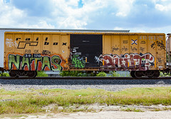 (o texano) Tags: houston texas graffiti trains freights bench benching natas built