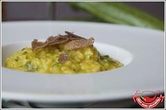 Risotto con zucchine, zafferano e tartufo (Tommaso Tamantini) Tags: risotto riso tartufo zucchine zafferano