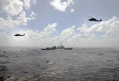 160715-N-YU572-078 (U.S. Pacific Fleet) Tags: indianocean seahawk spruance surfaceactiongroup pacsag