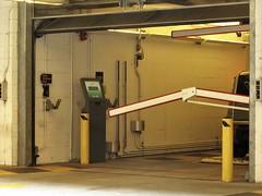 Parking garage entrance_jpg (ted cavanagh) Tags: barriers parkinggarages entrances