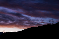 Amanecer III (Volvtil) Tags: chile sky mountain colors clouds outdoor amanecer cajondelmaipo