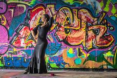 Urban flamenco (dmunro100) Tags: friend dancer flamenco adelaide spanish art urban city canon eos 80d canonef100mmf28lmacroisusm