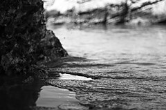 . (SS) Tags: ss pentax k5 sand sea smcpentaxm50mmf17 summer water shore seashore holiday beach vacation vieste gargano puglia italy outdoor depthoffield monochrome blackandwhite spiaggiadellascialara abstract