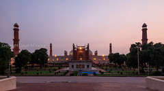 0W6A7092 (Liaqat Ali Vance) Tags: pakistan light sunset monument nature architecture photography evening google dusk mosque ali historical punjab lahore vance badshahi liaqat