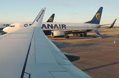 Ryanair - Early Morning Dublin Airport ( Adam_Ryan ) Tags: eifrn ryanair inflight onboard dub eidw early morning fr552 manchesterairport man egcc ethiopian b777