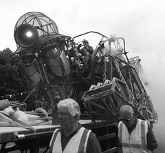 Next stop Kit Hill (gasheadali) Tags: manengine tavistock devon heritage mining puppet miner mechanical unesco machine industry bw monochrome