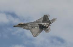 USAF F-22 Raptor - RIAT 2016 #7 (r.j.scott) Tags: royalinternationalairtattoo riat riat2016 royalairforce raf raffairford airshow aircraft airdisplay canon 550d usaf unitedstatesairforce f22 raptor stealth airsuperiority lockheedmartin 094191