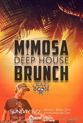 """$10 bottomless mimosas this SUNDAY at Crazy Goose (formerly Quality Social) with A.W.O.L. DJ Scott Roberts at our """"MIMOSA DEEP HOUSE BRUNCH"""" (789 6th Ave, on 6th & F)! BRUNCH: 10am-3pm. *Happy Hour starts @ 3pm; Last mimosas go out at 2:30pm (See www.MRP. (markrondeaupresents) Tags: housemusic gaslampsd sdcc sdnightlife socal crazygoose sdsu anotherwayoflife usd crazygoosebar sddj sdmusicscene dtsd sunday deephouse comeplay daygo djscottroberts markrondeaupresents mesacollege edmsd sdclubbing sd ucsd sixonenine sandiego sdbrunch sdliving gaslamp awol mrp"""