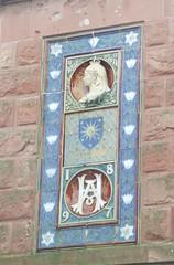 Queen Victoria Diamond Jubilee (1897) wall mosaic in Dingwall Ross & Cromarty Scotland (conner395) Tags: scottish highland highlands scottishhighlands scotia caledonia alba ecosse scozia escocia skottland esccia highlandscotland thescottishhighlands burghofdingwall conner davidconner highlandsofscotland daveconnerinverness daveconnerinvernessscotland scotland  schotland schottland szkocja    skotlanti   skotland  rossshire rossandcromarty rosscounty countyofross dingwall inverpeffery bailechaul
