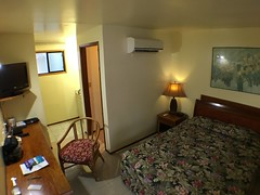 My room at Robert Reimers Hotel, Majuro.