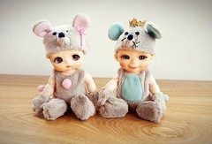Mouse Time  (Princess Stitch) Tags: nappychoo dalang popo mouse cute babybjd bjd zoombaby