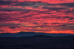 Pink (inlightful) Tags: clouds pink red magenta sky morning dawn sunrise sun sunset evening dusk quebradas blue nature weather monsoon rural southwest desert newmexico socorrocounty