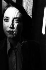 (Antonio Gutirrez Pereira) Tags: antoniogutierrezfotografia dinamocoworking retrato portrait mujer mirada blancoynegro blackandwhite surrealismo surreal conceptual