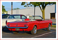 1964-1/2 Ford Mustang Convertible (sjb4photos) Tags: brownsrootbeer southlyon 196412fordmustang