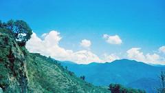 Peek of Peak (hiphopmilk) Tags: film analog analogue 135film 35mm kodak kodakfilm yashica yashicaj jaredyeh hiphopmilk nepal pokhara kaski gandaki phewa lake tal fewa sarangkot kaskikot mountain mountains peek peak annapurna machhapuchhre hiunchuli