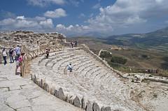 Segesta (Calatafimi - Trapani - Sicilia) (05) (Mau1962) Tags: segesta calatafimi trapani sicilia archeologia nikond5000 nikon italia italy isola isle