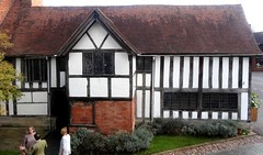 [45325] Stratford : Pedagogue's House (Budby) Tags: stratford stratfordonavon stratforduponavon warwickshire timbered school 15thcentury