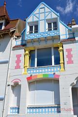 160809 vtgsA 161012  Ththi ( 3 pics ) (thethi: pls read the 1st comment) Tags: maison ancien architecture tradition autrefois 1900 couleur pastel cte mer aot vacances ambleteuse ctedopale france faves53