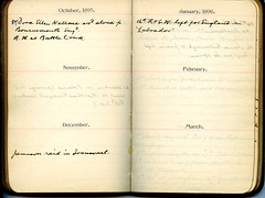 Diary of Robert Wallace p.33 (Community Archives of Belleville & Hastings County) Tags: 1880s 1890s 1900s 1910s 1920s diaries homechildren