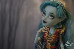 Vandala Doubloons OOAK by WillStore (willka_ann) Tags: ooak vandala doubloons mh monsterhigh monster mattel makeup repaint faceup willstore custom doll dolls