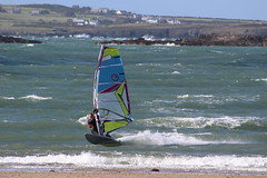 Rhosneigr Beach (rogerlloydwilliams) Tags: rogerwilliams rogbrynllys sealion llandudno boats colour sky feeding hand water zoo colwynbayzoo seaside tram tramway greatorme rhosneigir windsurfing rough sea kite kites blue anglesey rhosneigr2592016