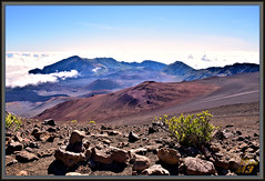 A veiw looking east across the crater (WanaM3) Tags: wanam3 nikon hawaii maui haleakala houseofthesun crater volcano hiking cinder