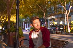 Santana Row (marm4rz) Tags: santanarow selfie profilepicture colors beautiful candid portrait person male edited