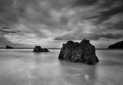 rock trio (SkyeBaggie) Tags: rocks long exposure sango sutherland beach scotland seascape canon 5dii zeiss ze 21mm 2821 2016 bigstopper lee landscape