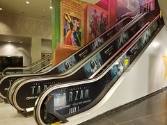 Entertainment, Tarzan, Escalator Graphics