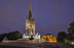 Albert Memorial London (david.bank (www.david-bank.com)) Tags: london england uk albert memorial royalalberthall dusk bluehour