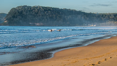 Early morning surf (Merrillie) Tags: daybreak uminabeach landscape nature australia nswcentralcoast newsouthwales sea nsw surfing beach ocean centralcoastnsw umina waterscape photography waves outdoors seascape surfers centralcoast water sunrise