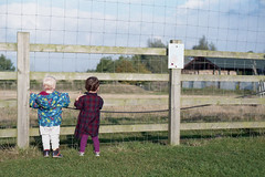 George and Josie at Old Hurst (tercrossman87) Tags: nikon fe nikkor 50mm 18 ais agfa vista 200 film epson v550