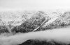 North Cascades (bombeeney) Tags: mountains snow clouds blackandwhite bw pnw pacificnorthwest rosslakenationalrecreationarea fe70300mm