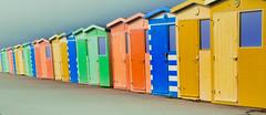 Seaford (johnlawson367) Tags: beachhuts britain chalk cliffs colourful england seaford sussex uk coast