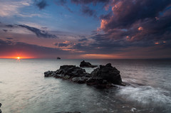 good morning (Marco Brunetti) Tags: sunrise dawn sicily seascape pentax