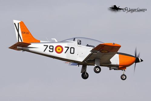 España - Ejército del Aire E.26-23 / 79-70 Enaer T-35 Pillán