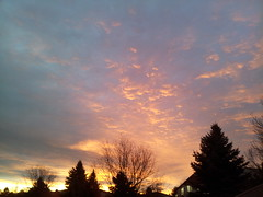 December 22, 2014 - A gorgeous sunrise in Broomfield. (David Canfield)
