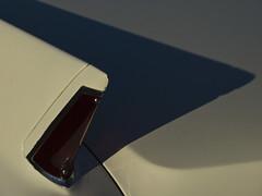 Shadow Of A Fin (EssGee Photography) Tags: newyork color car digital vintage automobile cadillac nostalgia nostalgic lumixdmcfz150