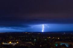 Saison 2013 - Episode 4 : Objectif Tricastin (1/7) (Thibaud TALON (@tibob51)) Tags: orage drme clair foudre tricastin