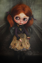 Bleuen (Rebeca Cano ~ Cookie dolls) Tags: milk doll vampire blythe custom bleuen cookiedolls rebecacano