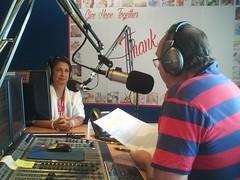 Georgette - Vision Radio in Brisbane 10 Nov 2014